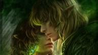 Shaundar & Narissa (A Few Good Elves) Artist: Adele Lorienne.