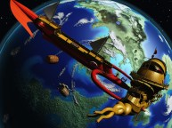 Battle in Toril's Orbit Artist: Silverblade the Enchanter