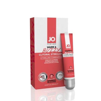 System JO – 暖感陰蒂刺激凝膠 – 10ml