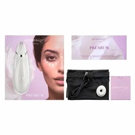 Womanizer – Premium 智慧型陰蒂吸啜器 – 白色