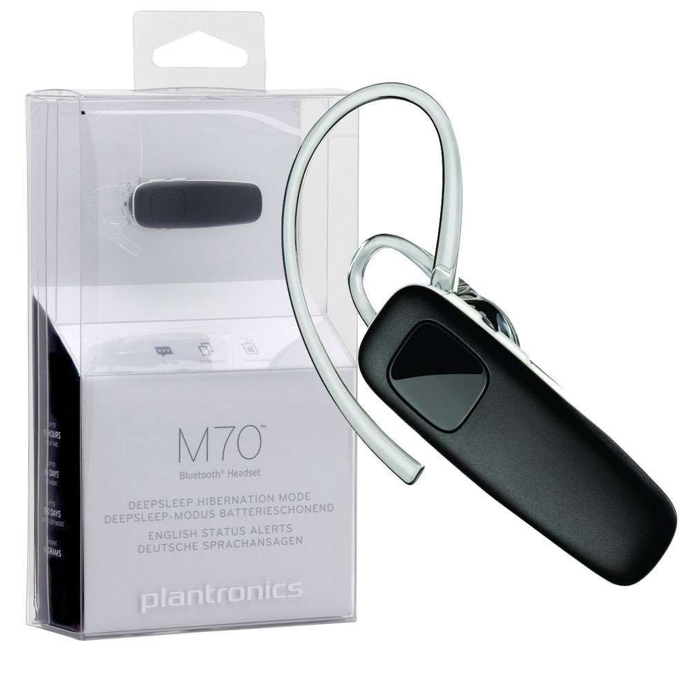 Plantronics Original M70 Bluetooth 3.0 Headset Multipoint Galaxy S8 S9 Note 8 | eBay