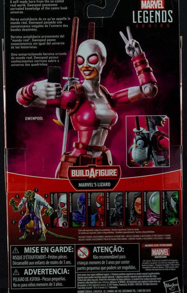 Marvel Legend's Gwenpool