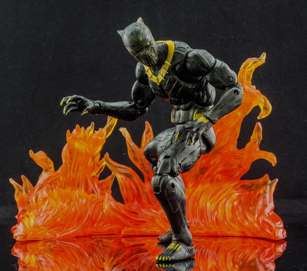 Erik Killmonger crouched