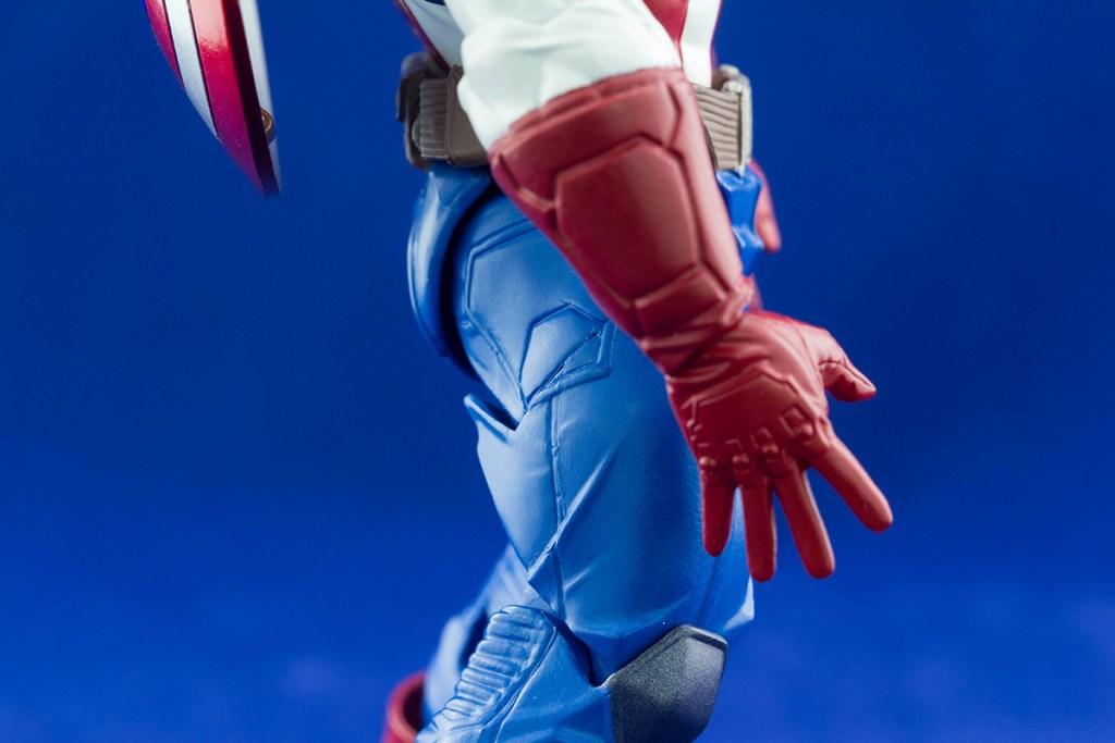 Amazing Yamaguchi Revoltech Captain America