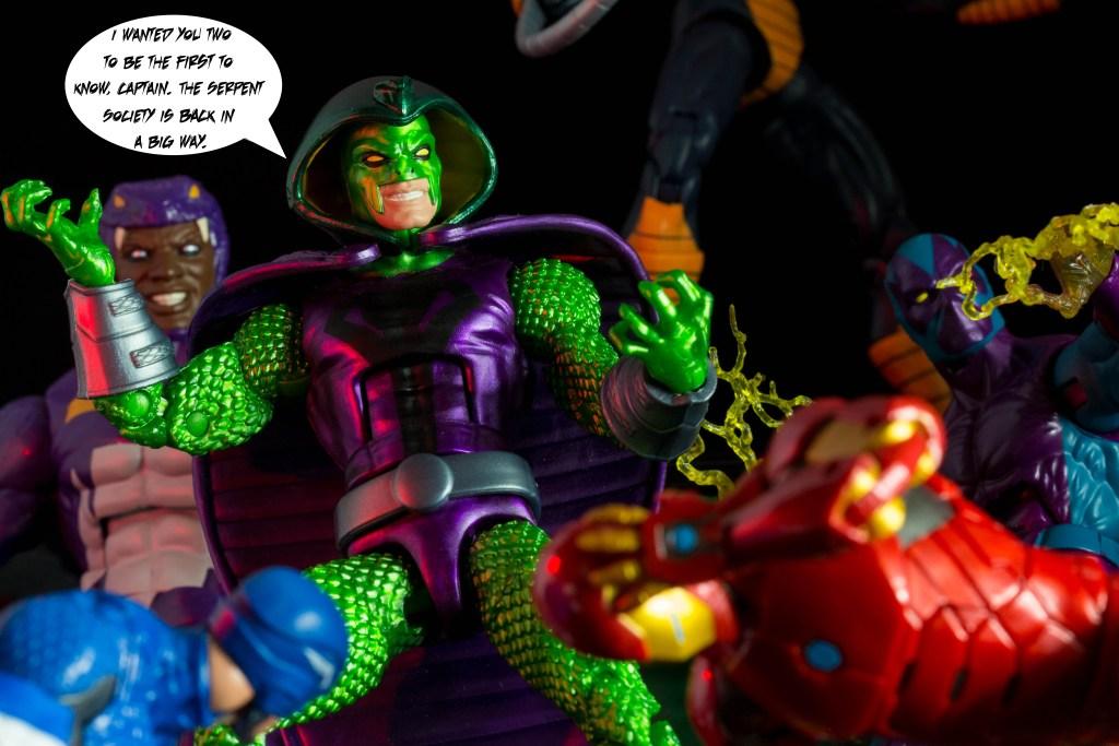 Marvel Legends Serpent Society