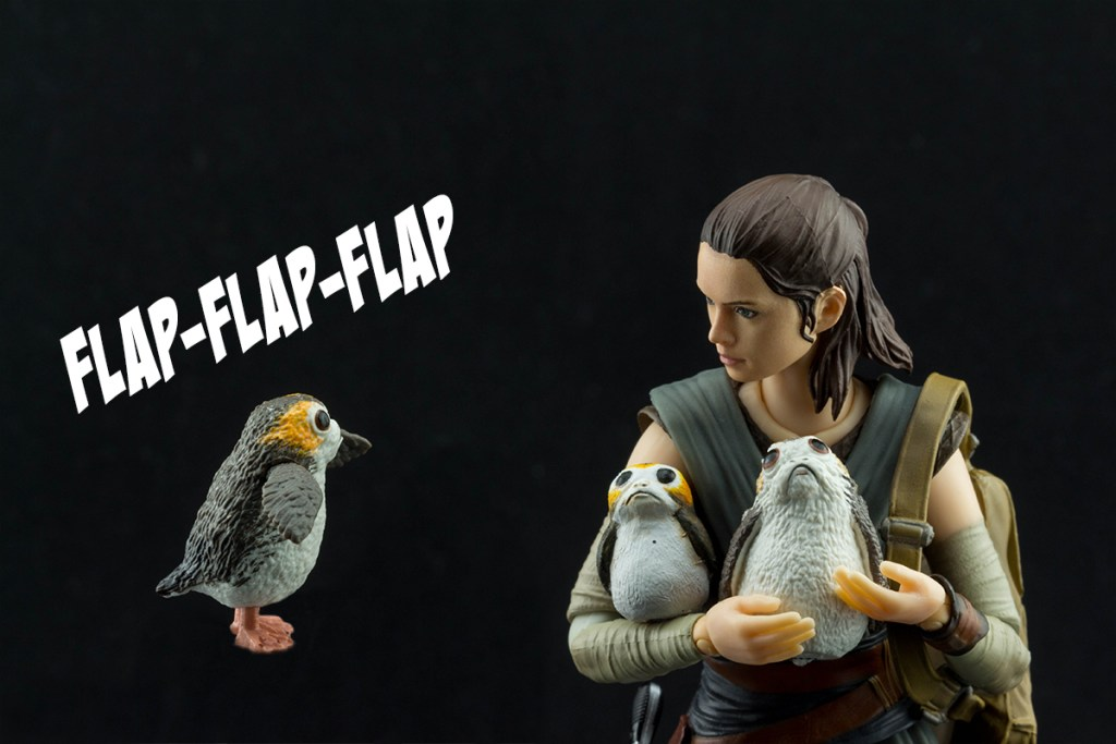 Star Wars Black Series Porgs