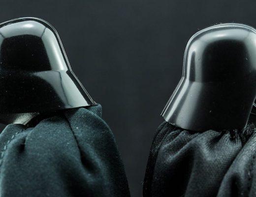Mafex Rogue One Darth Vader VS S.H. Figuarts Darth Vader