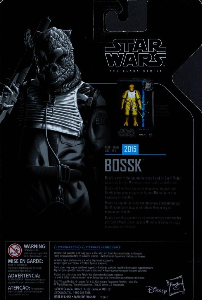 Black Series Bossk