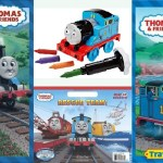 Thomas and Friends Coloring Books and Crayons