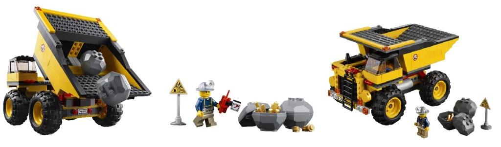 Lego Mining Truck