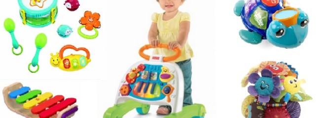Musical Toys for Babies and Toddlers