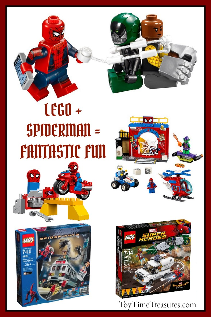 Spiderman Lego Building Sets