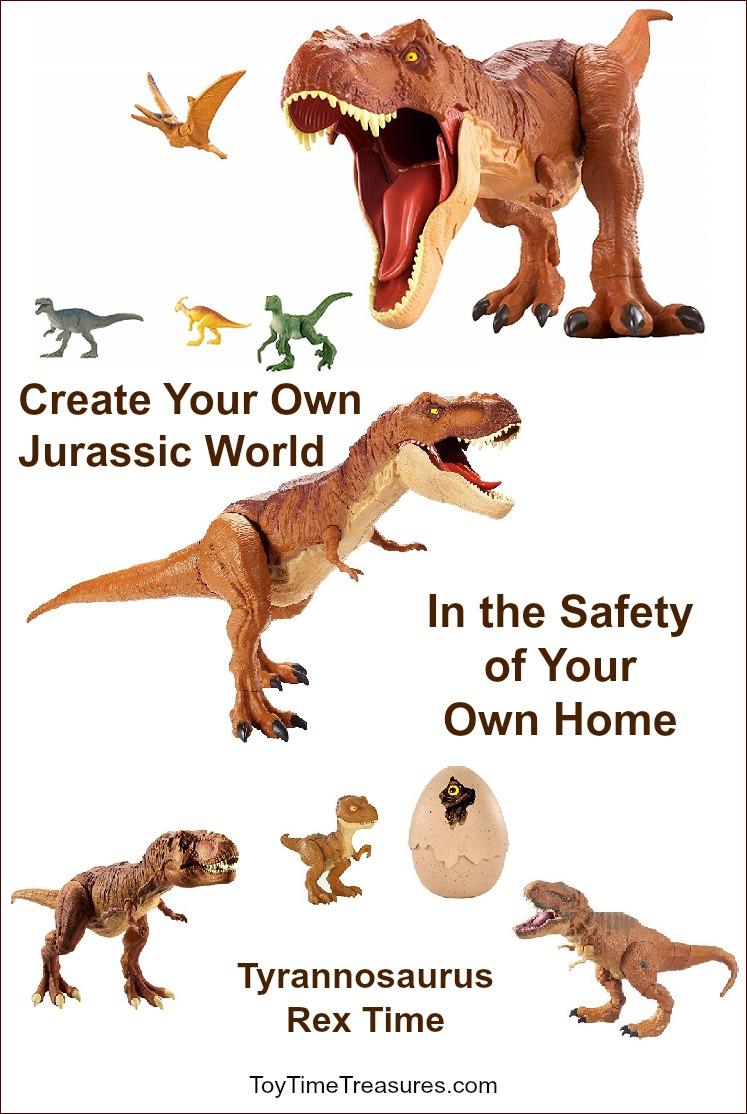 Jurassic World T-Rex Dinosaurs
