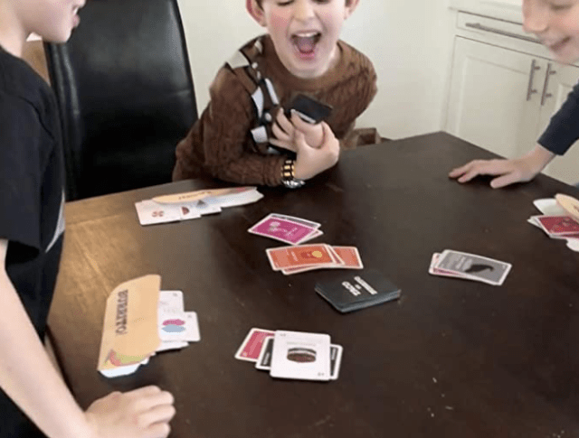 Sometimes kids squabble during kids games. It is important to involve the kids in the solution so you have a buy in.