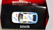 WIDEA 1-87 DIE CAST COLLECTIBLE CAR - Ford Escort WRC - Monte Carlo 1998 - No. 7 - 02