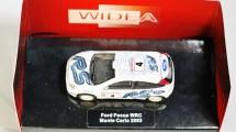 WIDEA 1-87 DIE CAST COLLECTIBLE CAR - Ford Escort WRC - Monte Carlo 2003 - No. 4 - 02
