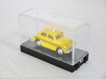 WIDEA 1-87 DIE CAST COLLECTIBLE CAR - Yellow Cab TAXI - 04