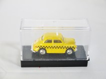 WIDEA 1-87 DIE CAST COLLECTIBLE CAR - Yellow Cab TAXI - 05