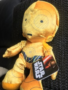 Disney STAR WARS c-3PO 10 inch Plush Toy 5