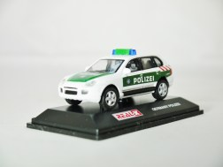 REAL-X COLLECTION 1-72 GERMANY POLIZEI CAR 512 - Porsche Cayenne Patrol Car - 02