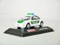 REAL-X COLLECTION 1-72 GERMANY POLIZEI CAR 512 - VW Beetle Patrol Car - 02