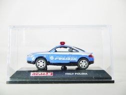 REAL-X COLLECTION 1-72 ITALY POLIZIA CAR 517 - AUDI TT Patrol Car - 08