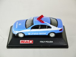 REAL-X COLLECTION 1-72 ITALY POLIZIA CAR 519 - BMW 7 Series Patrol Car - 01