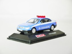 REAL-X COLLECTION 1-72 ITALY POLIZIA CAR 519 - BMW 7 Series Patrol Car - 02