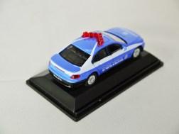 REAL-X COLLECTION 1-72 ITALY POLIZIA CAR 519 - BMW 7 Series Patrol Car - 06