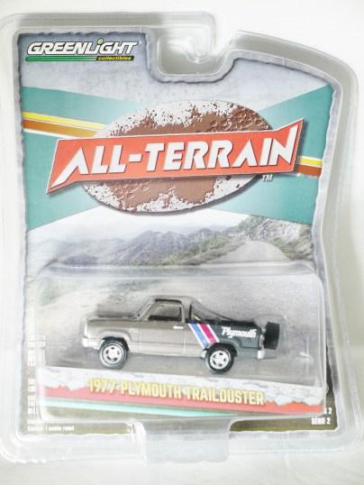 GREENLIGHT COL - ALL-TERRAIN S2 - 1977 PLYMOUTH TRAILDUSTER - 01