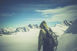 秋,冬,登山,アウター