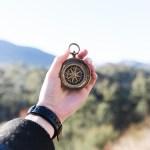 コンパス,腕時計,登山,トレッキング
