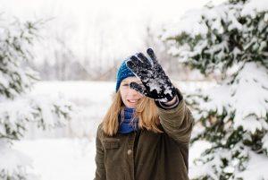 冬,登山,ビーニー,グローブ,バラクラバ