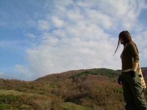 秋,登山,トレッキング,ウェア