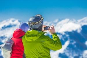 登山,スマホケース