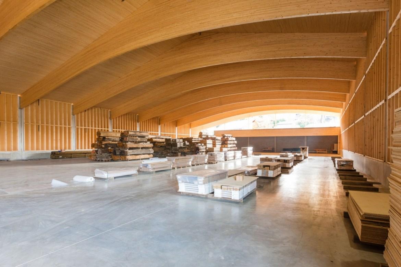 Hall industriel à Francorchamps