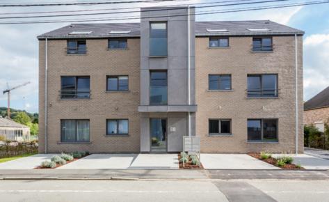 Immeuble à appartements à Hermalle
