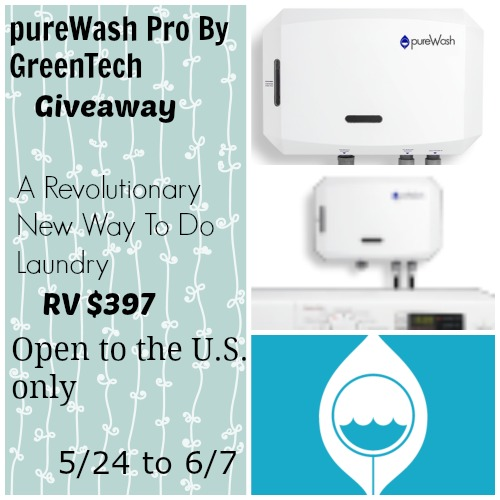 pureWash Pro by GreenTech Giveaway