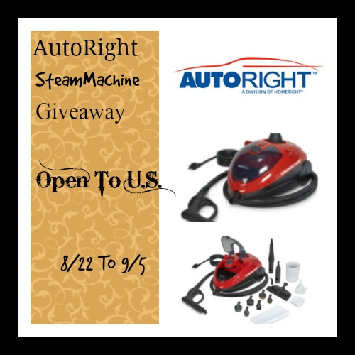 AutoRight SteamMachine Giveaway