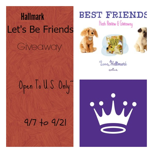 Hallmark Let's Be Friends Giveaway