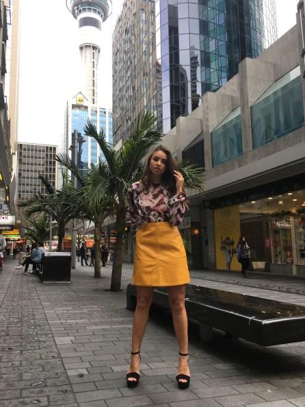Tania Dawson - PU Skirt 2