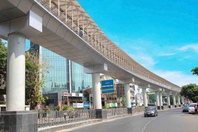 Skywalk at Bandra (West)