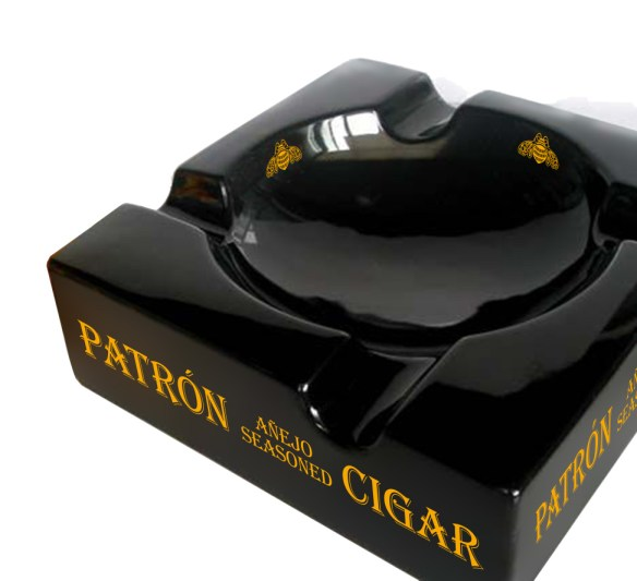 Patron Anejo Seasoned Cigar Ashtray copy