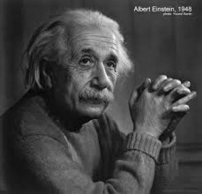 Thoughtful Einstein