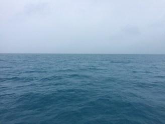 The line where the sky meets the sea