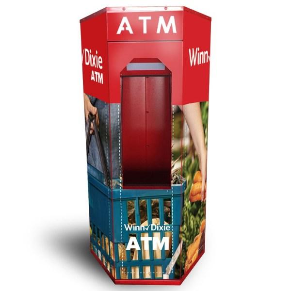 Hexagon ATM Kiosk Wrap