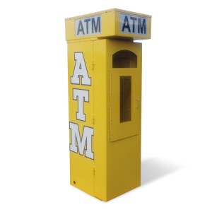 Outdoor Universal ATM Security Surround – Removable Topper Back Graphic Panel