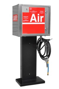 TPI Coin Air and Water machine on standard pedestal