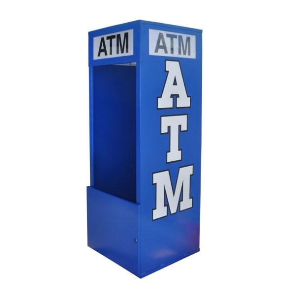 Mobile Standard ATM Kiosk Back Graphic Panel