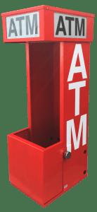 Mobile Slim ATM Security Enclosure - TPI Texas